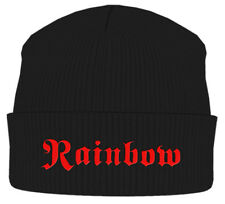 Rainbow 'Logo' Beanie - NEW & OFFICIAL!