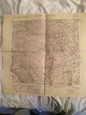 Cartina Militare Del Comune Di Caprino Bergamasco (bg) Anno