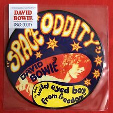 DAVID BOWIE -Space Oddity- Rare UK 40th Anniversary Picture Disc (Vinyl Record)