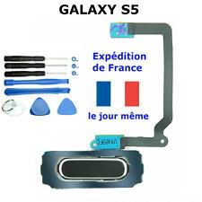 BOUTON HOME NOIR GALAXY S5 Nappe flex SM-G900F I9600