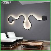 Modern LED Lamp Acrylic Illuminator Chandelier Light Ceiling Wall Living Room