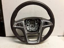 11 12 Buick Regal cocoa leather steering wheel OEM 20979163