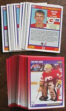 1991-1992 Score #271 Trevor Kidd (Flames) Top Prospect (LOT of 75 Cards!)