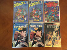Futuristic Comic Books Bundle of 6 (DC) NM+