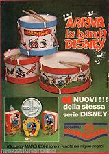 Pubblicità Advertising 1979 GIOCATTOLI MARCHESINI La Banda Disney (1)