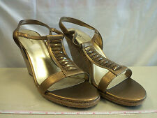 Anne Klein New Womens Virtruos Wedge Sandals 10 M Shoes