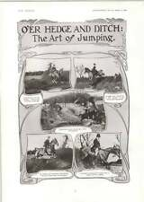 1906 The Art Of Jumping Hedge And Ditch O'donovan Rossa