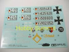Tamiya 1/16 R/C Static   LEOPARD 2A6 Tank  DECAL Set  re Full Option Kit #56020