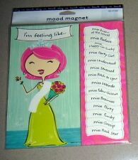 Lot of 24 Pieces - Novelty Sassy Mood Magnet with 14 Different Moods
