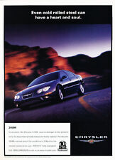 2000 Chrysler 300M - Rolled - Classic Vintage Advertisement Ad D178