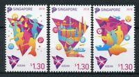 Singapore 2018 MNH ASEAN Chairmanship 3v Set Politics Politicians Stamps