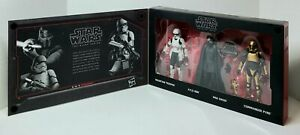 """STAR WARS Black Series THE FIRST ORDER 6"""" Galaxy's Edge Exclusive 4-Pack SEALED"""