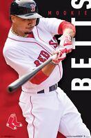 MOOKIE BETTS - BOSTON RED SOX POSTER - 22x34 MLB BASEBALL 15521