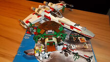 Lego Star Wars 4502 X Wing Fighter +Bauanleitung + Joda Hütte