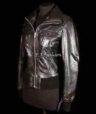 Cappotti e giacche da donna bomber neri pelle