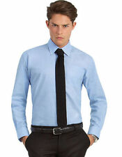 Double Cuff Big & Tall 3XL Chest Formal Shirts for Men