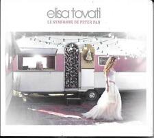 CD DIGIPACK 1 TITRE ELISA TOVATI LE SYNDROME DE PETER PAN NEUF SCELLE RARE