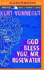 God Bless You, Mr. Rosewater by Kurt Vonnegut (2015, MP3 CD, Unabridged)