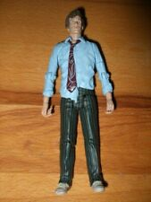 """Dr Who Action Figure 5"""" Matt Smith Raggedy ~ blue shirt, tie, sneakers 2004"""