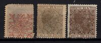 P125508 / SPANISH KUBBA STAMPS / EDIFIL # 86 / 88  COMPLETE / MH* CV 310 $