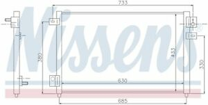 A/C Condenser Front Nissens 94717