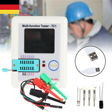 LCR-TC1 Screen Display Multi-functional TFT Backlight Transistor Tester DE