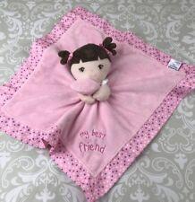 Garanimals Dolly Lovey Security Blanket My Best Friend Pink Satin Back Nunu