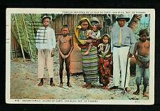 PANAMÁ 15-PANAMÁ -Familia Indigena de la Isla de Carti, San Blas