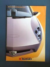 1999  Brochure Tokyo Motor Show Suzuki Magazine Japanese Cars