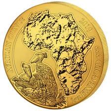 Ruanda 100 Francs 2019 Schuhschnabel African Ounce (12.) 1 Oz Gold ST