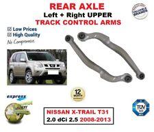 eje trasero izquierda & DERECHA Horquilla Superior Brazos Para Nissan X-Trail