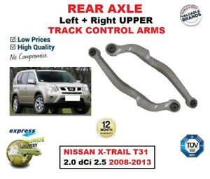 REAR AXLE LEFT & RIGHT UPPER WISHBONE ARMS for NISSAN X-TRAIL 2.0 2.5 2008-2013