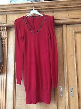 Ladies dark red Armand Basi dress - size xs