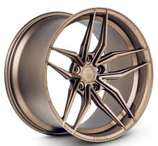 20x9/10 Ferrada F8-FR5 5x120 +20/25 Bronze Rims Fits Bmw 645 650 (2004-2010)