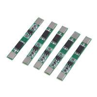 5Pcs 1S 3.7V 3A Li-ion 18650 Lithium Lipo Battery Protection Board Module