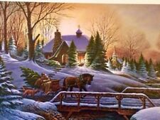 Heading Home by Terry Redlin -  2 Open edition prints. Printed signature,