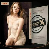 Emma Stone [ # 652-UNC ] PROJECT X Numbered cards / Limited Edition