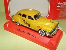 CHRYSLER WINDSOR COCA COLA SOLIDO 1:43