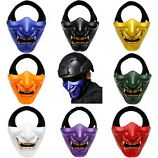 Japanese Ghost Prajna Hannya Mask Tactical Gaming Party Prop Halloween Cosplay