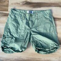 Signature Levi Straus & Co. Levi's Green Cotton Cargo Shorts Women's Misses 8