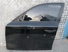 BMW 1 Series E87 E87N PORTA ANTERIORE SINISTRA N / S Schwarz 2 NERO
