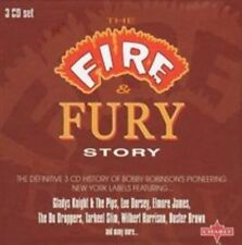 The Fire & Fury Story Various Artists Audio CD