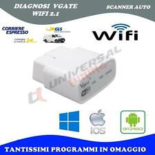 VGATE WIFI SCANNER AUTO DIAGNOSI MOTORE DTC - iOS, PC, ANDROID MULTIMARCA V 2.1