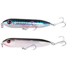 Saltwater Fishing Spook Lure 3.5'' 2/5oz Topwater Walker Pencil Bait Bass Trout