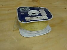 Belden 83265 Coaxial Cables 30AWG 1C SHIELD 100ft SPOOL WHITE