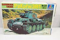 mb1225, RAR Alter Italeri 212 PzKpfw Panzerkam. 38 (t) mint BOX 1:35 Bausatz Kit