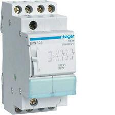 HAGER CONTATTORE TELERUTTORE 230V 16A 2NA+2NC EPN525