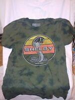 Shelby Cobra Officially Licensed T-Shirt Mens Size Medium- dark green