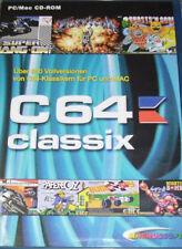 C 64 Classix Gold PC 500 c64 juegos PC 500 conocidos clásico en DVD funda