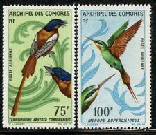 Comoro Is 1967 Birds airmail set Sc# C20-21 mint